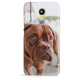 YuBingo Innocent Dog Designer Mobile Case Back Cover for Meizu M3