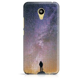 YuBingo Sparkling Light Designer Mobile Case Back Cover for Meizu M3