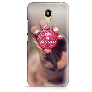 YuBingo I'm a winner Designer Mobile Case Back Cover for Meizu M3