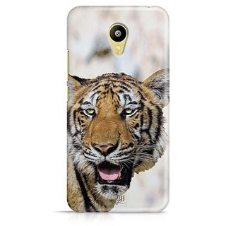 YuBingo Tiger with mouth open Designer Mobile Case Back Cover for Meizu M3