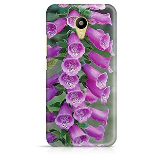 YuBingo Bunch of purple flowers Designer Mobile Case Back Cover for Meizu M3