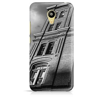 YuBingo Horror building Designer Mobile Case Back Cover for Meizu M3