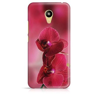 YuBingo Red flowers Designer Mobile Case Back Cover for Meizu M3