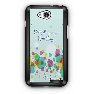YuBingo Everyday is a New Day Designer Mobile Case Back Cover for LG L90