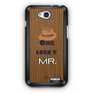 YuBingo One Lucky Mr. Designer Mobile Case Back Cover for LG L90