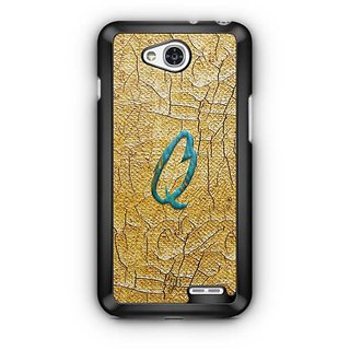 YuBingo Monogram with Beautifully Written Funky Colourful Paint Finish letter Q Designer Mobile Case Back Cover for LG L90