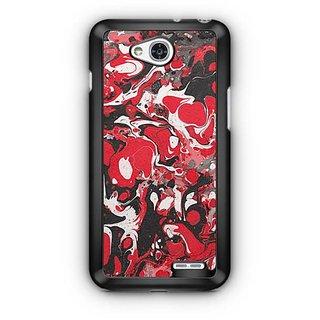 YuBingo Colourful Marble Finish (Plastic) Designer Mobile Case Back Cover for LG L90