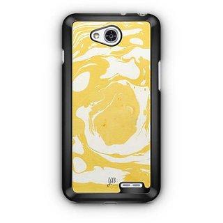 YuBingo Marble Finish (Plastic) Designer Mobile Case Back Cover for LG L90