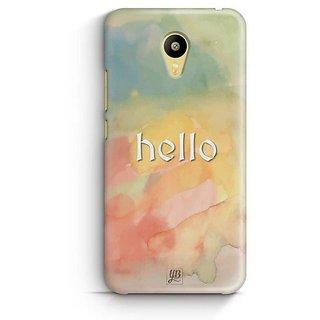 YuBingo Hello Designer Mobile Case Back Cover for Meizu M3