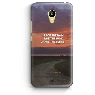 YuBingo Chase The Sunset Designer Mobile Case Back Cover for Meizu M3