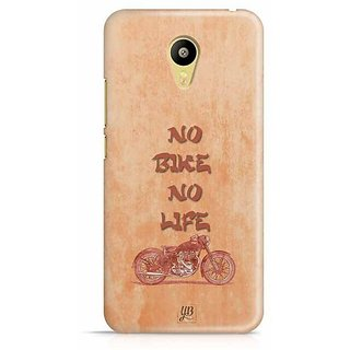 YuBingo No Bike No Life Designer Mobile Case Back Cover for Meizu M3