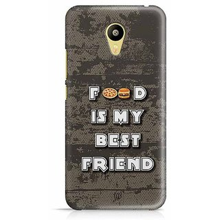 YuBingo Food is my Best Friend Designer Mobile Case Back Cover for Meizu M3