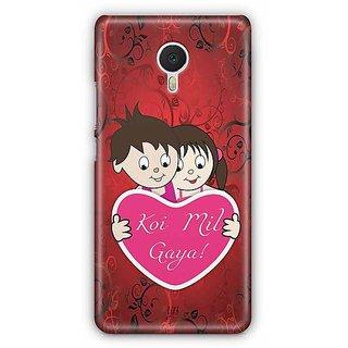 YuBingo Koi Mil Gaya Designer Mobile Case Back Cover for Meizu M3 Note