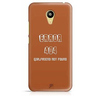 YuBingo Error 404 : Girlfriend not Found Designer Mobile Case Back Cover for Meizu M3