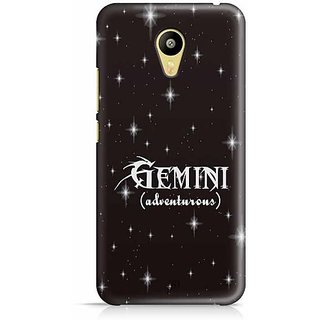 YuBingo Gemini (Adventurous) Designer Mobile Case Back Cover for Meizu M3