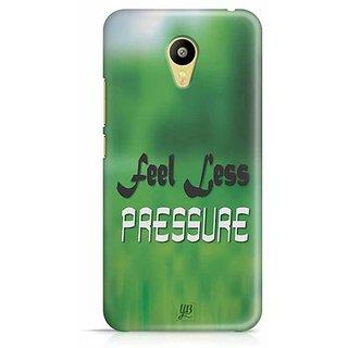 YuBingo Feel Less Pressure Designer Mobile Case Back Cover for Meizu M3