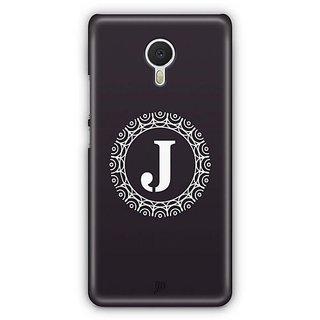 YuBingo Monogram with Beautifully Written letter J Designer Mobile Case Back Cover for Meizu M3 Note