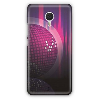 YuBingo Disco Background Designer Mobile Case Back Cover for Meizu M3 Note