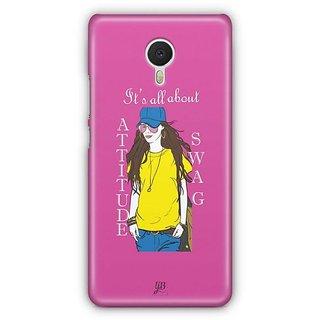 YuBingo All about Attitude and Swag Designer Mobile Case Back Cover for Meizu M3 Note
