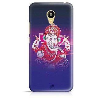 YuBingo Ganpati Bappa Designer Mobile Case Back Cover for Meizu M3