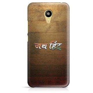 YuBingo Jai Hind Designer Mobile Case Back Cover for Meizu M3