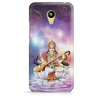 YuBingo Maa Saraswati Designer Mobile Case Back Cover for Meizu M3
