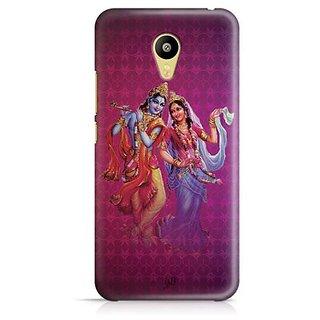 YuBingo Radha Krishna Designer Mobile Case Back Cover for Meizu M3