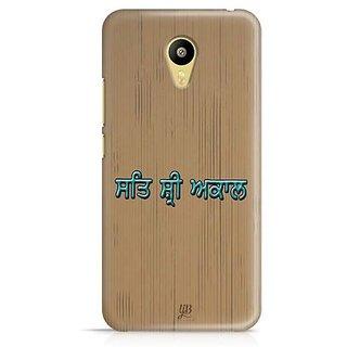 YuBingo Sat Shri Akal Designer Mobile Case Back Cover for Meizu M3
