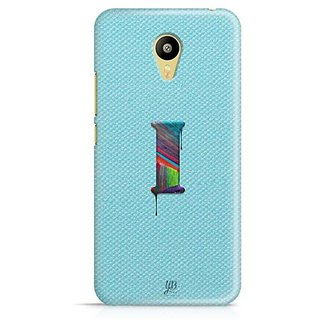YuBingo Monogram with Beautifully Written Paint Finish letter I Designer Mobile Case Back Cover for Meizu M3