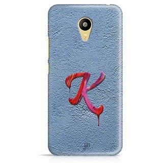 YuBingo Monogram with Beautifully Written Paint Finish letter K Designer Mobile Case Back Cover for Meizu M3