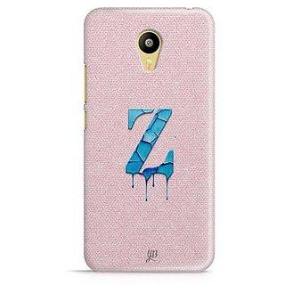 YuBingo Monogram with Beautifully Written Paint Finish letter Z Designer Mobile Case Back Cover for Meizu M3