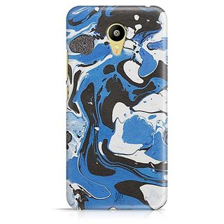 YuBingo Blue White Marble Finish (Plastic) Designer Mobile Case Back Cover for Meizu M3