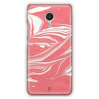 YuBingo Marble Finish (Plastic) Designer Mobile Case Back Cover for Meizu M3 Note