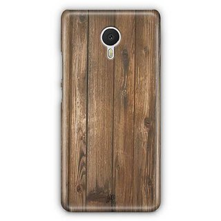 YuBingo Wood Finish (Plastic) Designer Mobile Case Back Cover for Meizu M3 Note