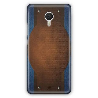 YuBingo Jeans and Leather Finish (Plastic) Designer Mobile Case Back Cover for Meizu M3 Note