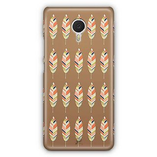 YuBingo Leaf Pattern Designer Mobile Case Back Cover for Meizu M3 Note