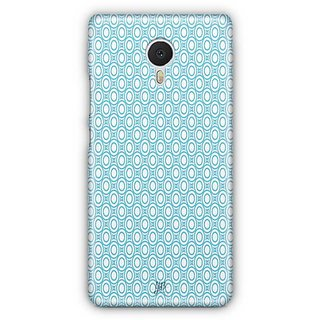 YuBingo Blue circles Pattern Designer Mobile Case Back Cover for Meizu M3 Note