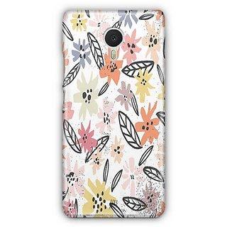 YuBingo Multi colour flowers pattern Designer Mobile Case Back Cover for Meizu M3 Note