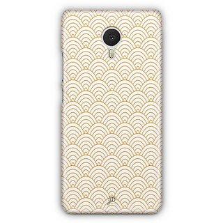 YuBingo Semi Circle Pattern Designer Mobile Case Back Cover for Meizu M3 Note