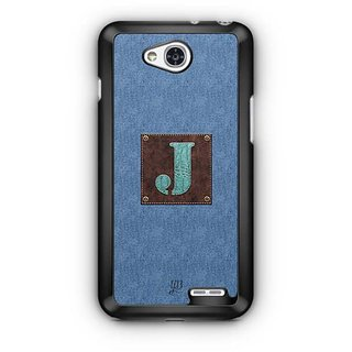 YuBingo Monogram with Beautifully Written Jeans and Macho Male Leather Finish letter J Designer Mobile Case Back Cover for LG L90