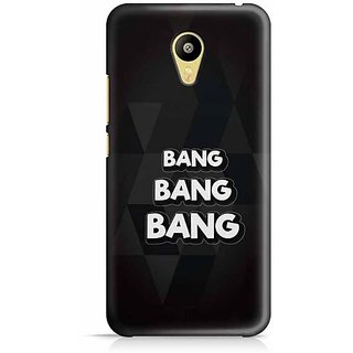 YuBingo Bang, Bang, Bang Designer Mobile Case Back Cover for Meizu M3