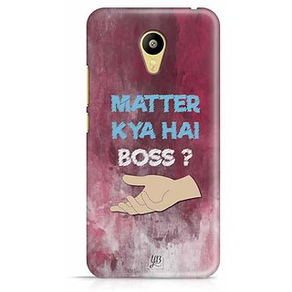 YuBingo What's the Matter, Boss? Designer Mobile Case Back Cover for Meizu M3