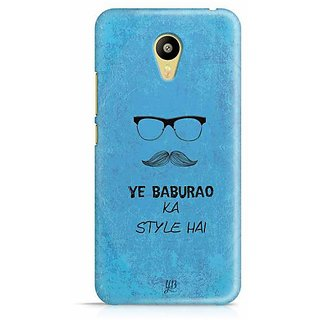 YuBingo Ye Baburao ka Style Hai Designer Mobile Case Back Cover for Meizu M3