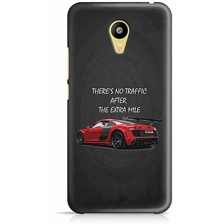 YuBingo There is no Traffic after the Extra Mile Designer Mobile Case Back Cover for Meizu M3