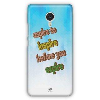 YuBingo Inspire before you Expire Designer Mobile Case Back Cover for Meizu M3 Note