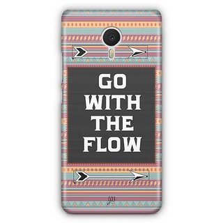 YuBingo Go with the Flow Designer Mobile Case Back Cover for Meizu M3 Note