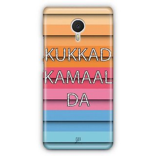 YuBingo Kukkad Kamaal Da Designer Mobile Case Back Cover for Meizu M3 Note