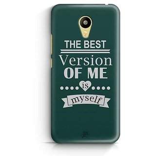YuBingo The Best Version of Me Designer Mobile Case Back Cover for Meizu M3