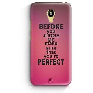 YuBingo Make sure you're perfect Designer Mobile Case Back Cover for Meizu M3