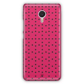 YuBingo Dot Dot Dot Designer Mobile Case Back Cover for Meizu M3 Note